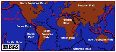 Plate Tectonic Map