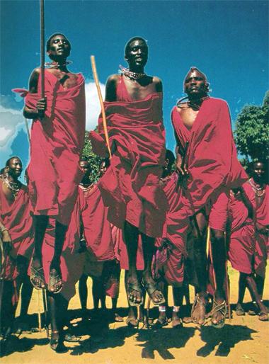Masai Dancing