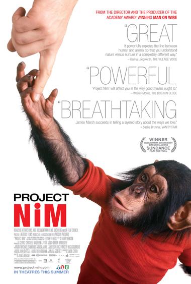 Nim Chimpsky Poster