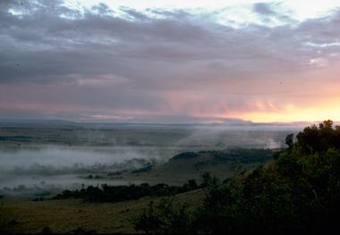 Dawn on Masai Mara
