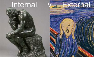 Internal v External