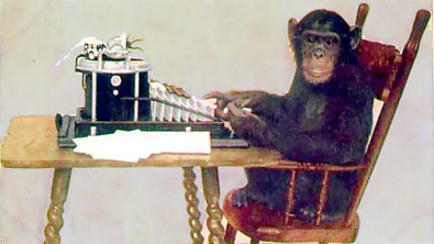 Typing Chimp